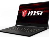 В России вышел игровой ноутбук MSI GS65 Stealth Thin