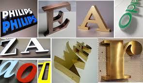 Производство объемных логотипов