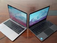 Ноутбук Chuwi Aerobook очень похож на MacBook Pro